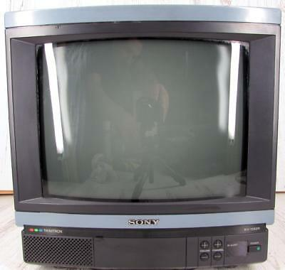 "SONY Trinitron 13"" TV / Monitor w/ Remote Vintage Excellent Condition KV-1392R"