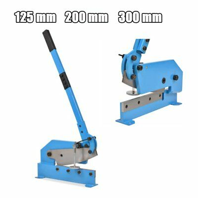 125mm / 200mm / 300mm Heavy-duty Hand Lever Shear Metal Cutter Multifunctional
