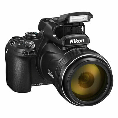 Nikon Coolpix P1000 16MP 4K Digital Camera with 125x Optical Zoom - Brand New