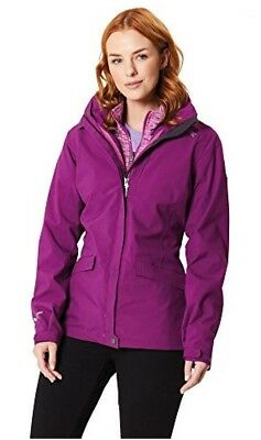 Regatta Women's Waterproof Windproof Breathable 3 in 1 Walking Rain Jacket Coat