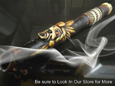 The Chief  Tobacco Smoking Pipe + +5 screens  N0 Glass or Wood    PT