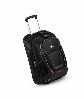 High Sierra AT7 Carry-on Wheeled Backpack with removable daypack Black  22-Inch 88839c91d0489