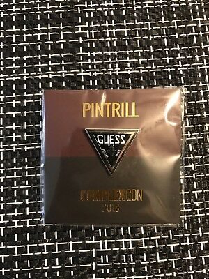 Complexcon 2018 Exclusive Pintrill Guess Pin