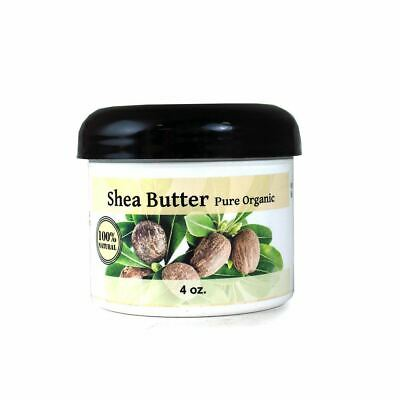 200g Certified Organic Pure Shea Butter- Unrefined,Raw -In resealable pouch