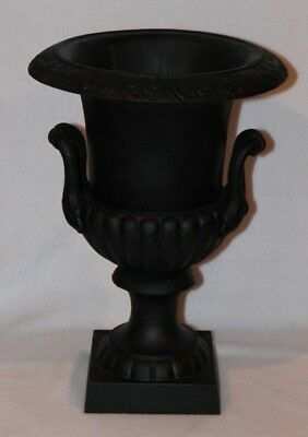 "Antique - Victorian - Cast Iron Garden Urn / Planter - 17"" High X 12"" Wide"