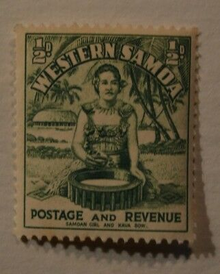 Very Rare Antique/Vintage Western Samoa Early 1900's (Unused) Stamp - No Reserve