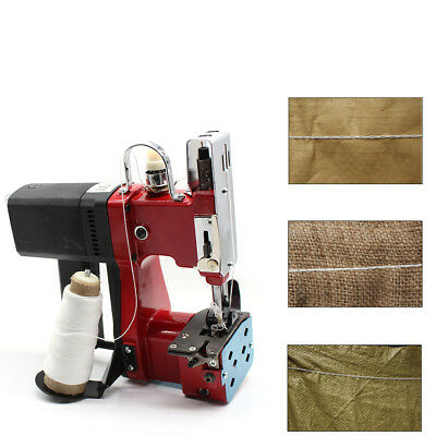 Industrial Portable Electric Bag Stitching Sack Closer Seal Sewing Machine 6mm !