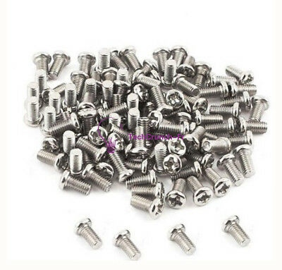 50PCS NEW M3 Screw 3x6mm 6mm Match M3 Copper Cylinder