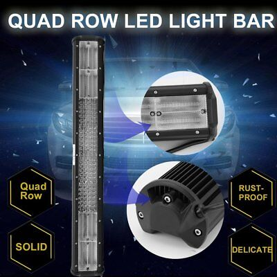 "23""Inch LED Light Bar Triple Row Combo Beam Work Driving Offroad 4WD"