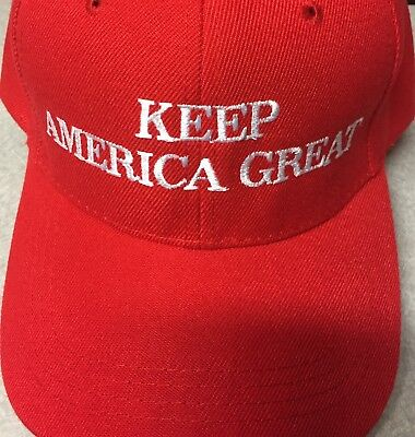 KEEP AMERICA GREAT 2020 Presidential MAGA Slogan HAT Trump Inspired EMBROIDERED