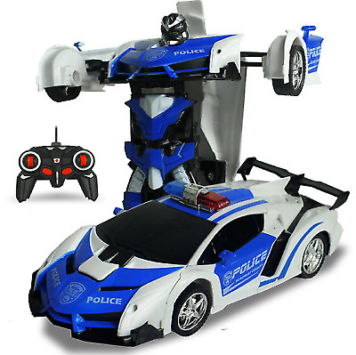 Kids Toys RC Car Boys and Girls Sports Car Transformers Remote Control Kids Toy
