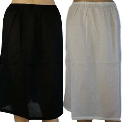 100% Cotton Half Slip - Longer / Shorter NEW SunNSand Petticoat Skirt Size 12-20