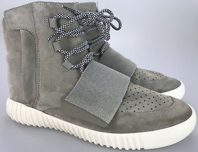 a3bcb548010 Adidas Yeezy Boost 750 OG Tan Suede Men s Size 12 US 01 2015 Zipper Strap