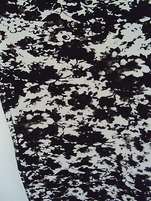 NEW black white flower maternity leggings size 14 L XL? FREE POSTAGE for 5 ITEMS