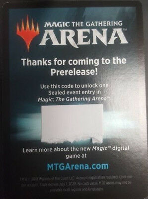 EMAIL CODE ONLY - MTG ARENA Guilds of Ravnica PRERELEASE Sealed Event - IN  HAND