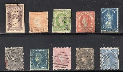 Victoria - 1852-1866 - used collection