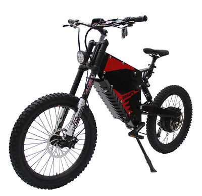 Risunmotor Super Power 72V3000W FC-1 Bomber e-motorcycle Electric Mountain Bike