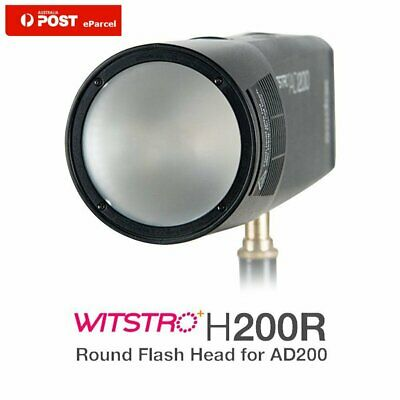 AU Godox H200R Ring Flash Head Separation Extension Head Portable F AD200 Flash