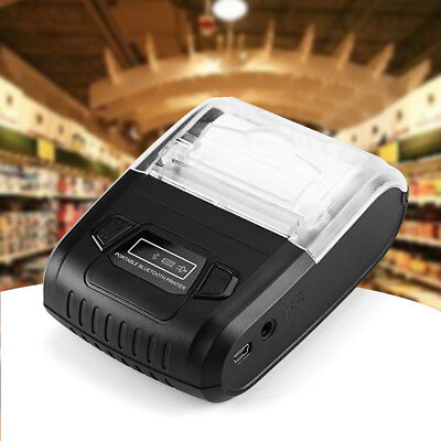 Portable Bluetooth Mobile Wireless USB 58mm POS Thermal Dot Receipt Printer NEW