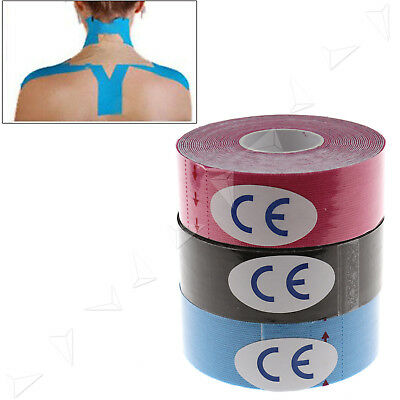 3 Rolls 2.5cm*5m Kinesiology Tape Sports Physio Muscle Strain Injury Support