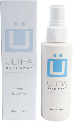 Ultra Hair Away Spray 1 Month Removal Growth Inhibitor No Shaving No Body Hair