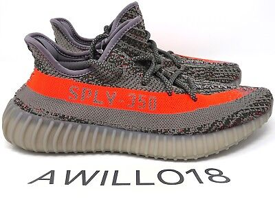 quality design 65226 9356d ADIDAS YEEZY BOOST 350 V2 Beluga OG 1.0 Grey Orange UK 4 5 6 7 8 9 10 US