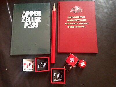 NAEF 7x Swiss Editions for Swiss Confederation Kurt Naef new