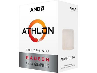 AMD Athlon 200GE 2-Core, 4-Thread, 3.2 GHz Base, Socket AM4 35W YD200GC6FBBOX De