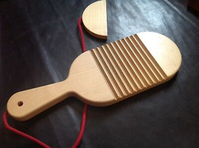 """NAEF Toy Instrument """"Ratsche"""" from Kurt Naef for Collectors"""