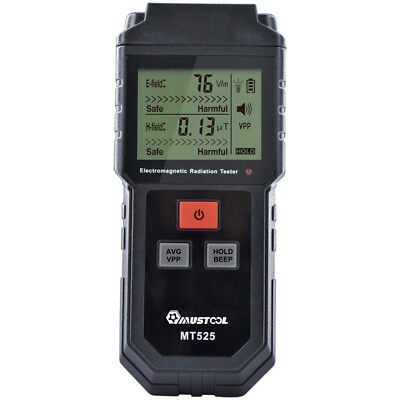 Tools MUSTOOL MT525 Electromagnetic Radiation Tester Electric Field & Magnetic F