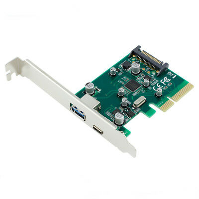 Ult Unite 10Gbps PCI-E 4x to USB 3.1 USB 3.0/Type-C Expension Card Adapter with