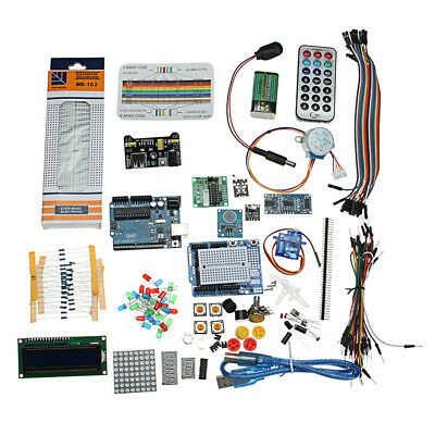 Starter Project Kit With UNO R3 Mega 2560 Nano Breadboard Kit Components For Ard