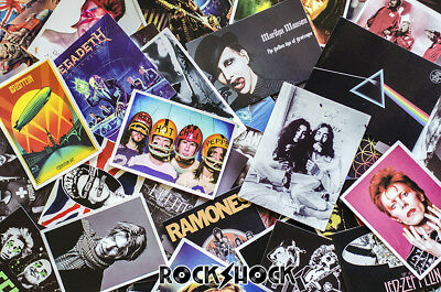 1x Rock Punk Metal Bands Music Stickers Limited Edition Rare Collectable Gift
