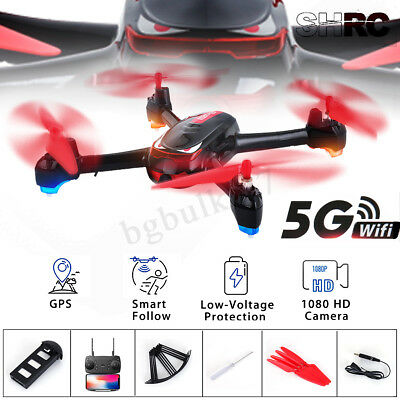 GPS Positioning Follow 1080P HD Camera RC Drone 5G Wifi FPV Quadcopter Aircraft