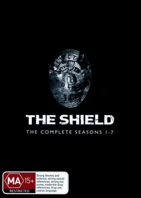 The Shield: The Complete Seasons 1 - 7  - DVD - NEW Region 4