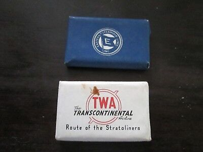 2 Vintage Soaps TWA Airlines and Eastern Steamship Lines