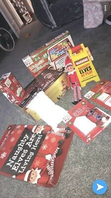 Naughty Elf Accessories Props On The Shelf Ideas Advent Toy Christmas Decoration