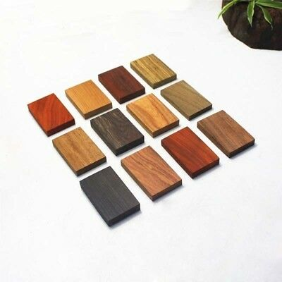 60mmx40mmx10mm Natural Wooden Solid Wood Block Cuboid Sculpture,DIY Peace Brand