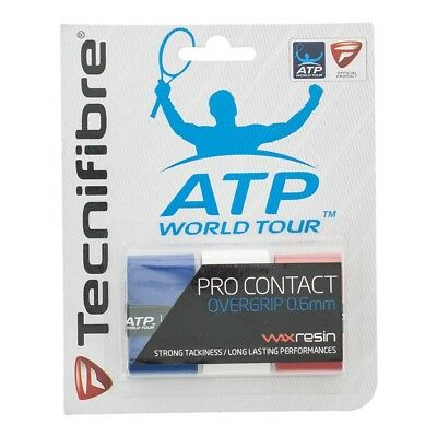 Tecnifibre Pro Contact Griffband (blau-weiss-rot)