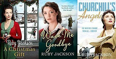 Ruby Jackson - Churchill's Angels Series 1 - 3 (3 Book Collection)
