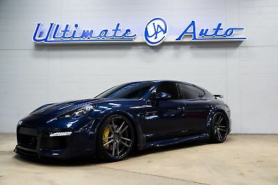 2013 Porsche Panamera Turbo TechArt Widebody. AlphaOne Wheels. Pirelli Tires. JL Audio/Audison Stereo Pkg.