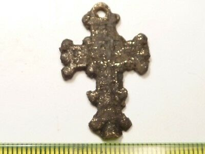 2879	Ancient Byzantine bronze cross
