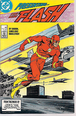 The Flash 1 NM- DC Comics 1987