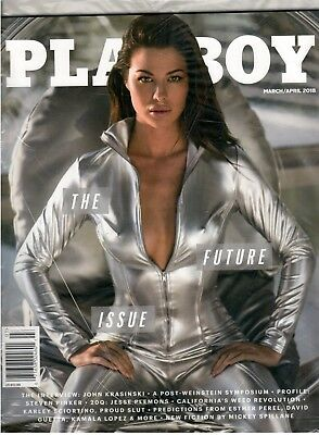 PLAYBOY Magazine March April 2018 The Future Issue California's Weed