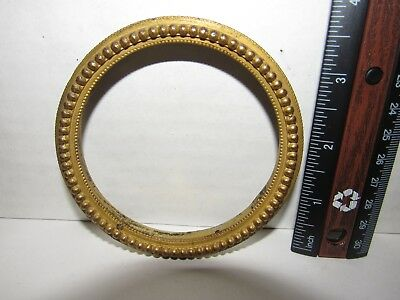 "Antique French Mantel Clock Bezel (3-7/8"" Round)"