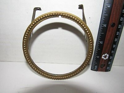 "Antique French Mantel Clock Bezel (3-3/4"" Round)"