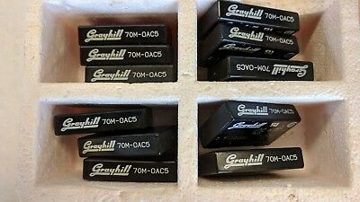 NEW LOT OF 11 Grayhill Solid State Relays 70M-OAC5 2.5-10V DC 140V AC 3A Arduino