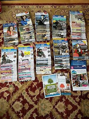 """Huge Collection """"Who Do You Think You Are Magazines"""" some full sets various year"""