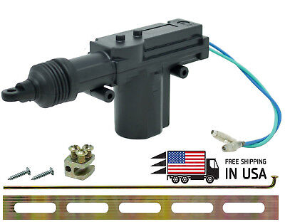 Universal 2 Wires 12V Car Auto Motor Heavy Duty Power Slave Door Lock Actuator