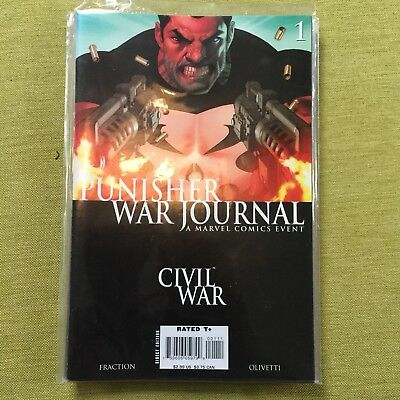 Marvel Comics The Punisher War Journal 1-10 Mint Condition